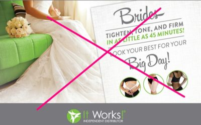 Body Wraps Work! To Promote Body Anxiety and Unreal Ideals, But Not Real Health or Weight Loss