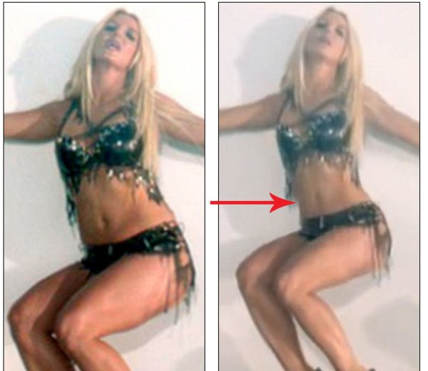 Photoshopping Altering Images And Our Minds - This shocking video shows how photoshopped models are
