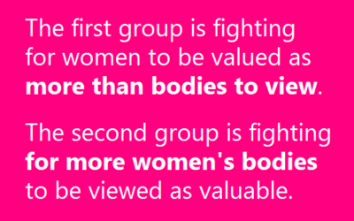 Empowering or Objectifying: The Clashing Camps of Body Positivity