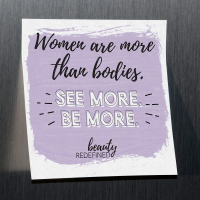 See More. Be More. Sticky Notes