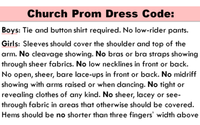 Dress Codes Trying to Desexualize Girls are Actually Sexualizing Them More