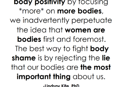 body positivity focus on more bodies beauty redefined