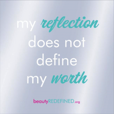 Body-Positive Mirror Decal